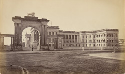 Government House with the Eastern Gateway [Calcutta]